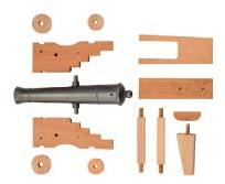 Mini Old Ironsides Cannon kit KCN8041